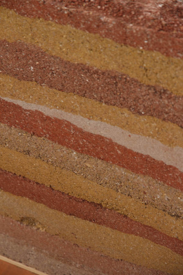 The colors of Rammed Earth