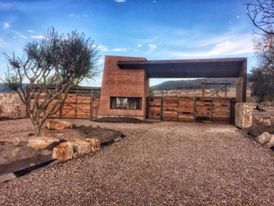 Rammed earth consulting, Queretaro, Mexico